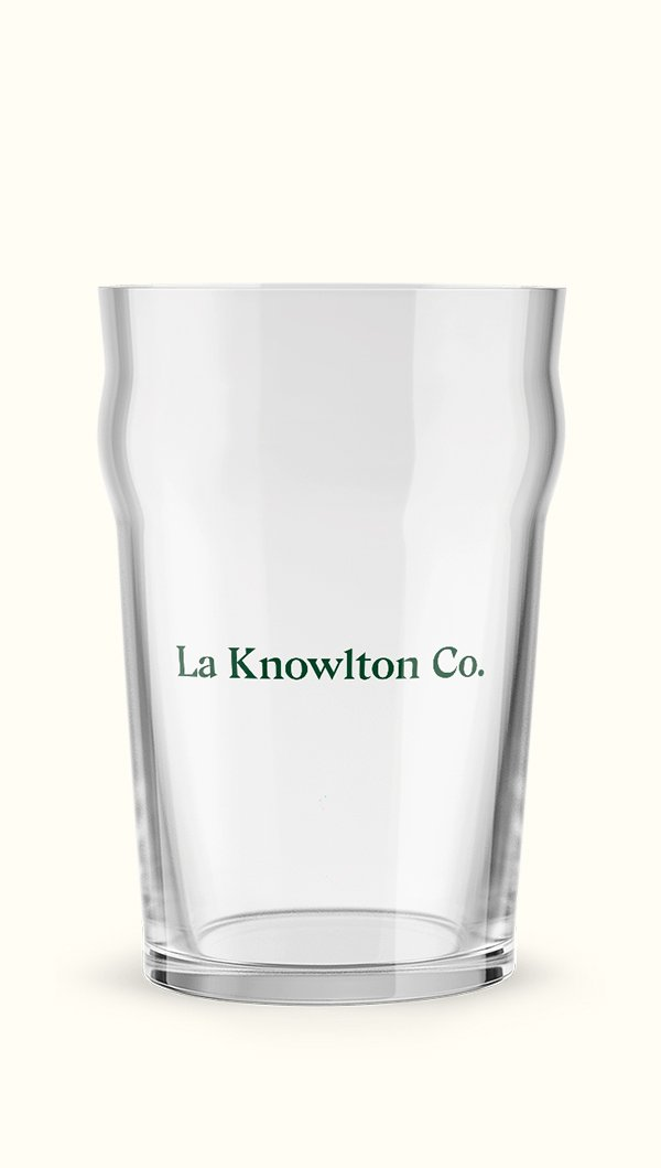 Beer Glass - La Knowlton Co.