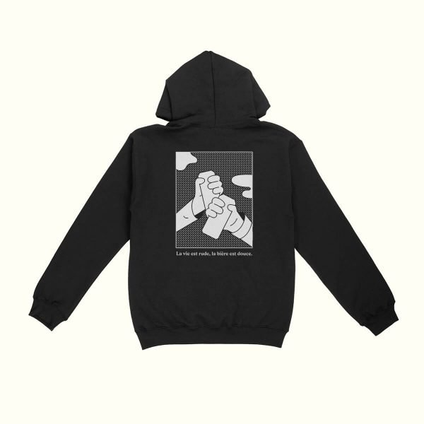 Black Pullover Hoodie - La Knowlton Co.