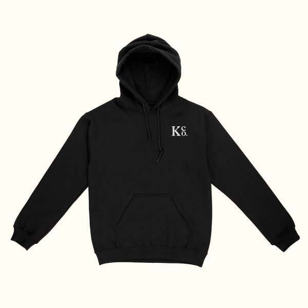 Black Pullover Hoodie - La Knowlton Co