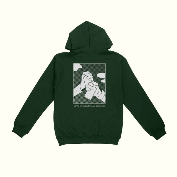 Green Pullover Hoodie - La Knowlton Co.