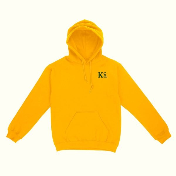 Yellow Pullover Hoodie - La Knowlton Co.