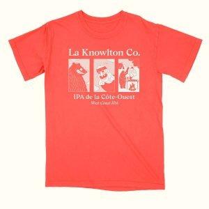 Red West Coast IPA T-Shirt - La Knowlton Co.